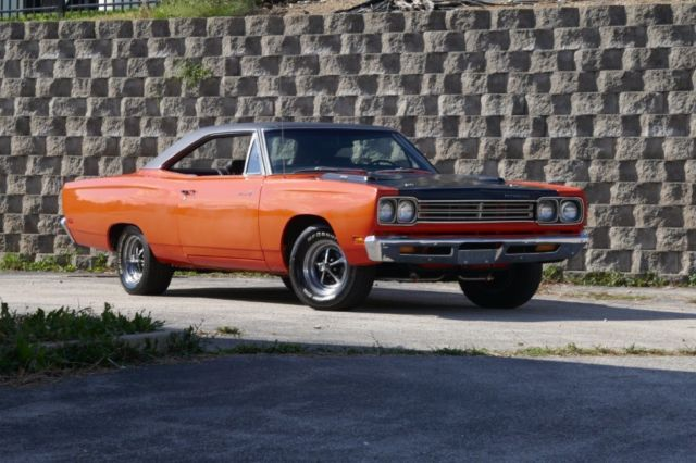 1969 Plymouth Road Runner Real H Code 383 Hemi Orange