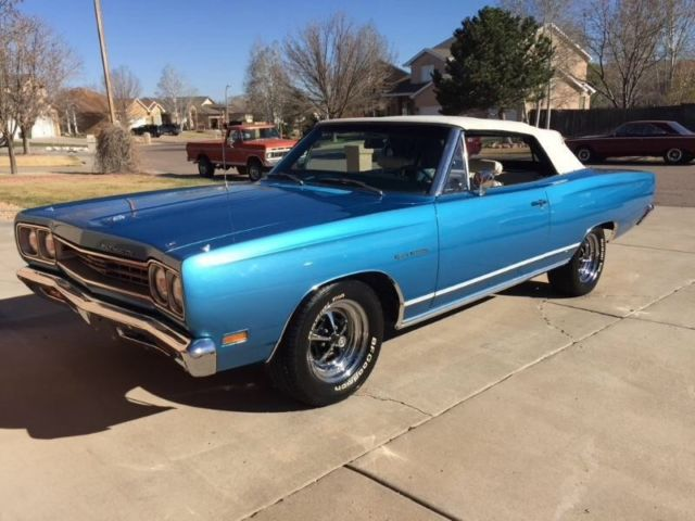 1969 Plymouth Sport Satellite Convertible For Sale