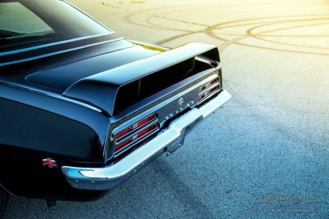 1969 Pontiac Firebird 350ci 350hp Factory Ho Phs Doc Auto Ps Pb Triple Blk For Sale
