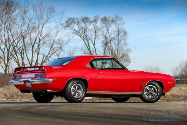 1969 Pontiac Firebird Phs Documented Ys Code 400ci Ram