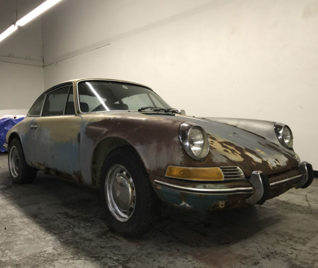 1969 Porsche 911T Coupe Matching Numbers Original 911-t