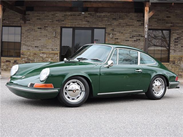 1969 Porsche 912 Irish Green Completely Restored For Sale