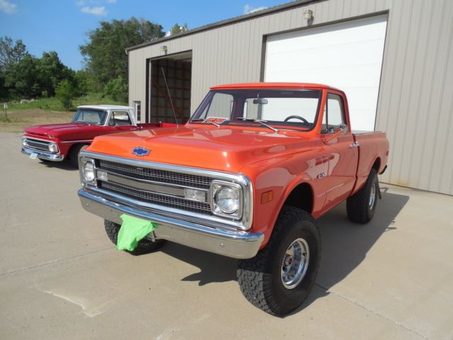 1969 Restored C/K10 Short box 4X4 Super Solid and Straight for sale