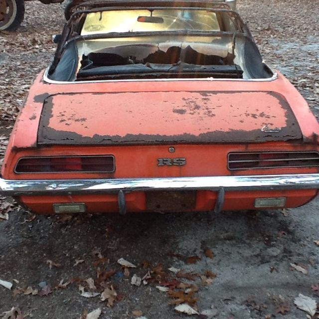 1969 RS Camaro Convertible For Sale