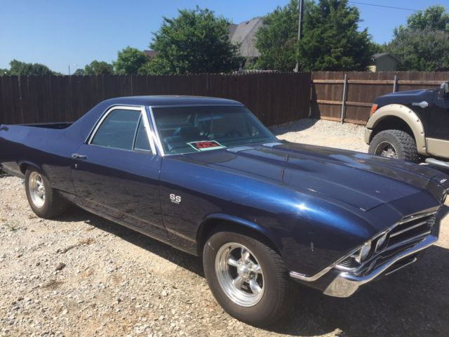 1969 ss el camino for sale chevrolet el camino 1969 for. Black Bedroom Furniture Sets. Home Design Ideas