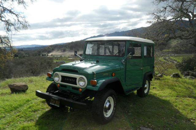 1969 Toyota FJ40 Land Cruiser - Frame Off Restoration for sale