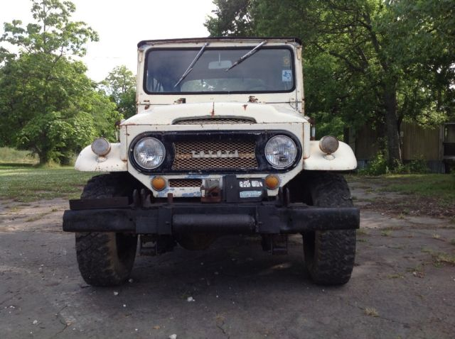 1969 toyota land cruiser fj40 jeep 4x4 rat rod landcruiser project barn find for sale toyota. Black Bedroom Furniture Sets. Home Design Ideas