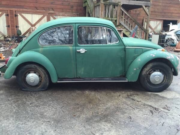 1969 Volkswagen Beetle Original Engine Very Complete