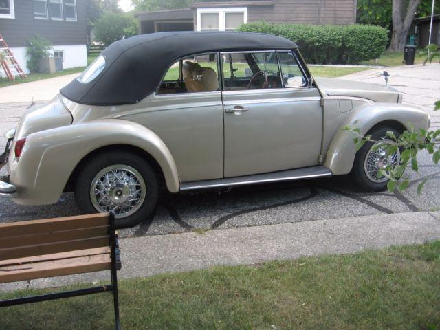 Volkswagen Beetle Rolls Royce Kit Car