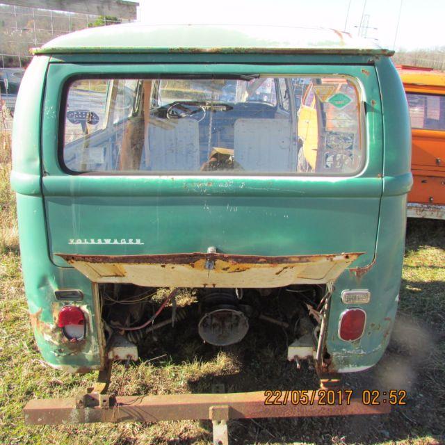 Volkswagen Parts Usa: 1969 Volkswagen Bus PARTS VAN VW BUS .. IN W.V. For Sale