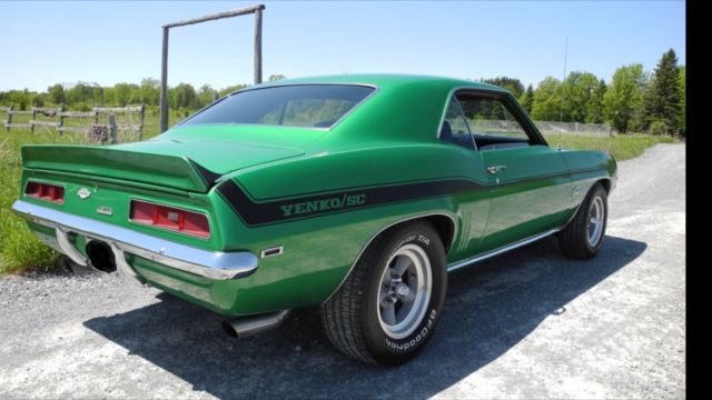1969 Yenko Camaro Clone Big Block 427 Ci L88 W Alum Heads Munci 4 Speed For Sale Chevrolet