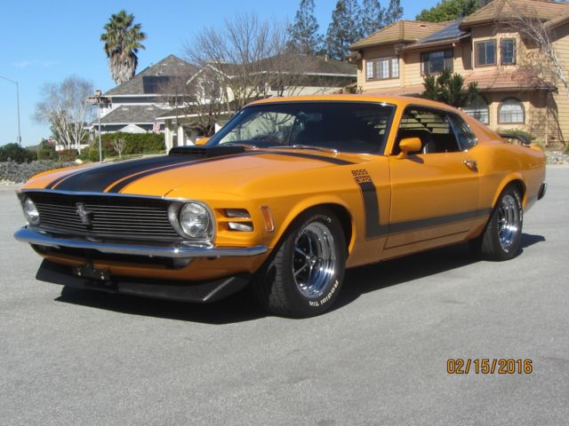 1970 boss 302 mustang for sale ford mustang boss 302 1970 for sale in morgan hill california. Black Bedroom Furniture Sets. Home Design Ideas