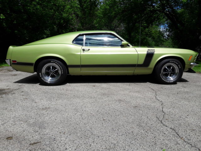1970 boss 302 mustang g code fastback for sale ford mustang 1970 for sale in barrington. Black Bedroom Furniture Sets. Home Design Ideas