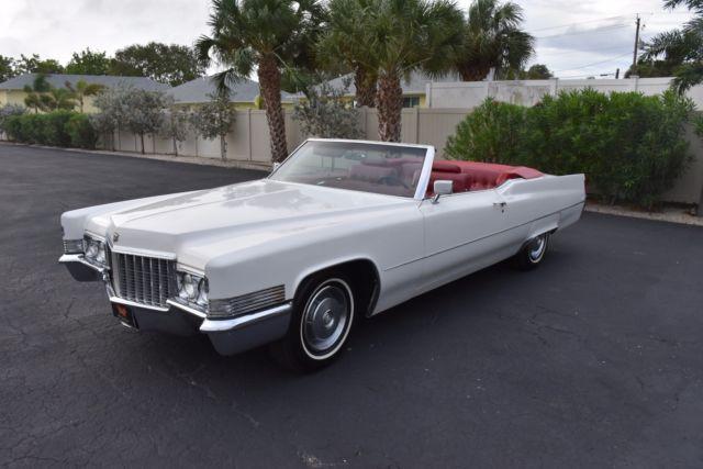1970 cadillac deville convertible 472ci v8 auto a c power everything 0 white co for sale. Black Bedroom Furniture Sets. Home Design Ideas