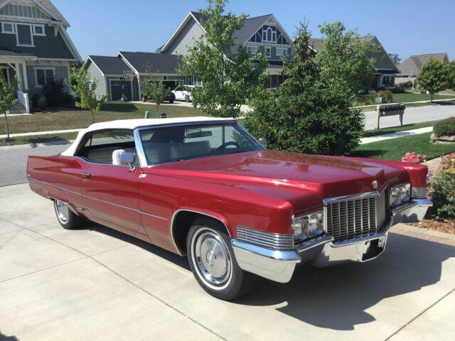 1970 Cadillac DeVille Convertible 72,000 original miles for