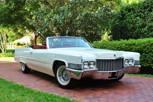 1970 cadillac deville convertible frame off restoration absolutely gorgeous for sale. Black Bedroom Furniture Sets. Home Design Ideas