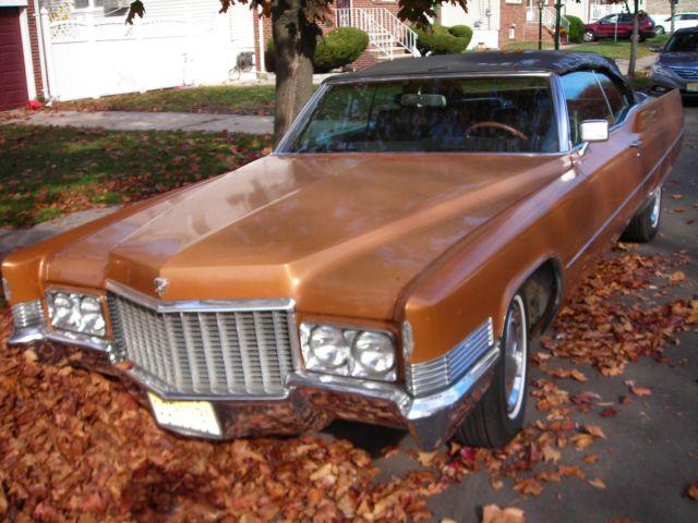 1970 Cadillac Deville Convertible NO RESERVE for sale ...