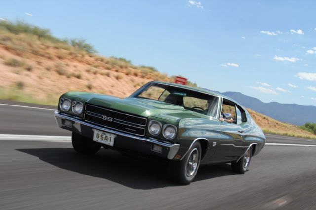 1970 Chevelle Ss 396 L34 Survivor 13 000 Original Miles