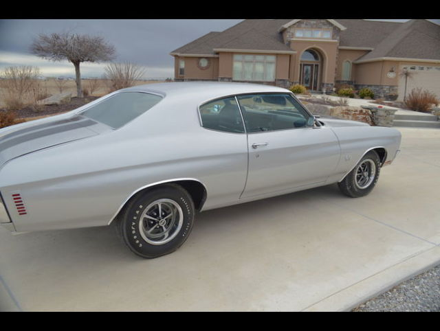 1970 chevelle ss l78 396 high performance silver and black dream machine for sale chevrolet. Black Bedroom Furniture Sets. Home Design Ideas
