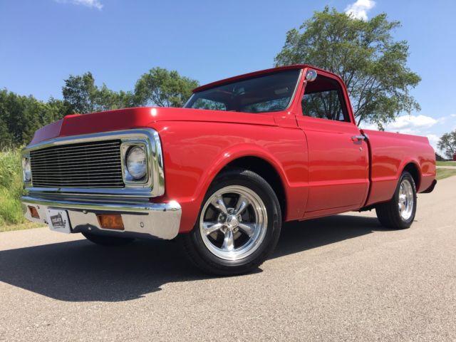 1970 chevrolet c 10 57680 miles red pickup truck 350 v8 3 for Chevy v8 motors for sale