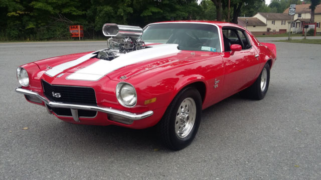 1970 Chevrolet Camaro Ss Pro Street For Sale