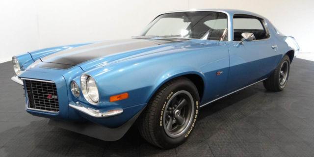1970 Chevrolet Camaro Z28 40564 Miles Blue Metallic Coupe
