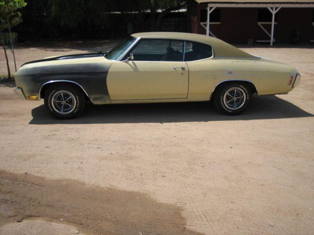 1970 Chevrolet Chevelle SS -2nd owner all original arizona ...