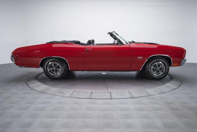 1970 Chevrolet Chevelle Super Sport 851 Miles Cranberry