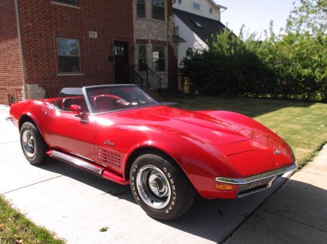1970 chevrolet corvette convertible classic for sale for Classic american convertibles for sale