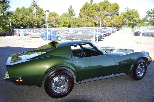 1970 chevrolet corvette lt1 numbers matching donnybrook green documented for sale chevrolet. Black Bedroom Furniture Sets. Home Design Ideas