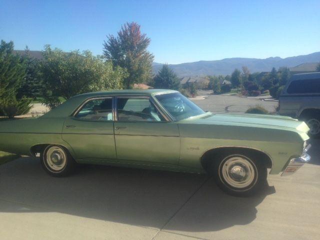 1970 chevrolet impala 4 door sedab for sale chevrolet. Black Bedroom Furniture Sets. Home Design Ideas