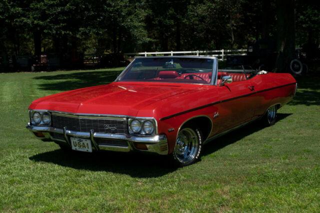 1970 Chevrolet Impala Convertible 350 Auto A