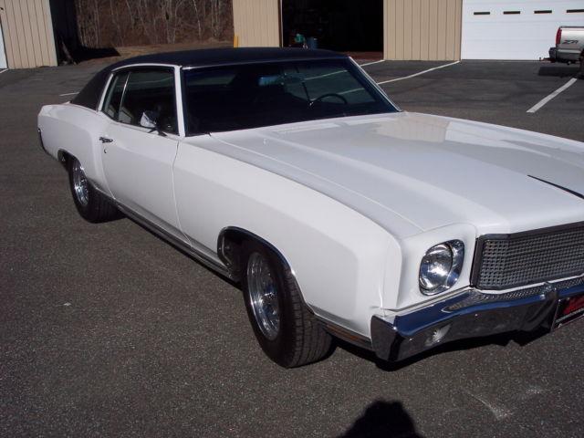 1970 Chevrolet Monte Carlo Base Hardtop 2 Door 6 6l For