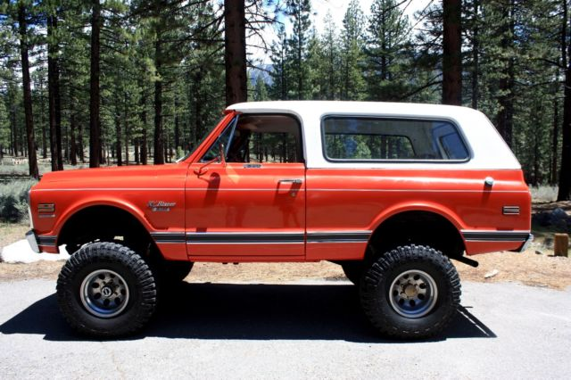 1970 Chevy Blazer Cst For Chevrolet In South Lake Tahoe California United States