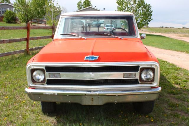 1970 chevy c20 truck barn find pickup for sale chevrolet c 10 1970 for sale in eaton colorado. Black Bedroom Furniture Sets. Home Design Ideas