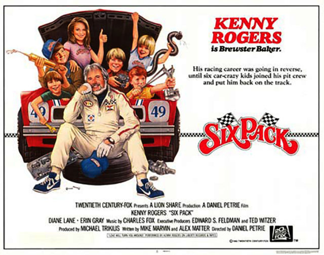 Six Pack Movie Race Cars