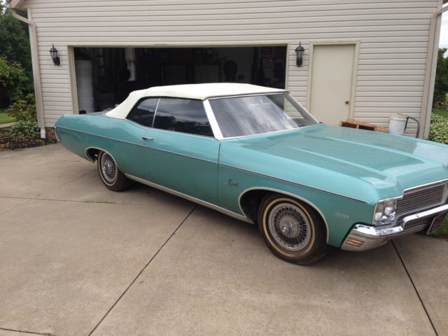 1970 Chevy Impala Convertible 2nd Owner For Sale Chevrolet