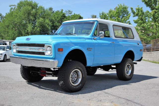 1970 Chevy K5 Blazer 454 4 Speed 4wd Restored 33 Quot Tires