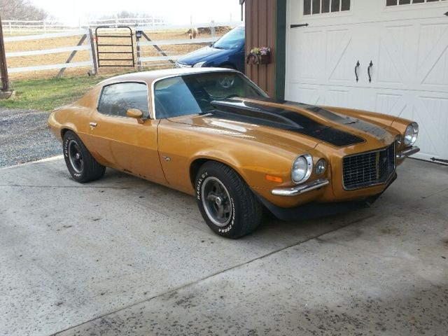 1970 Chevy Split bumper Camaro RS Z28 project for sale