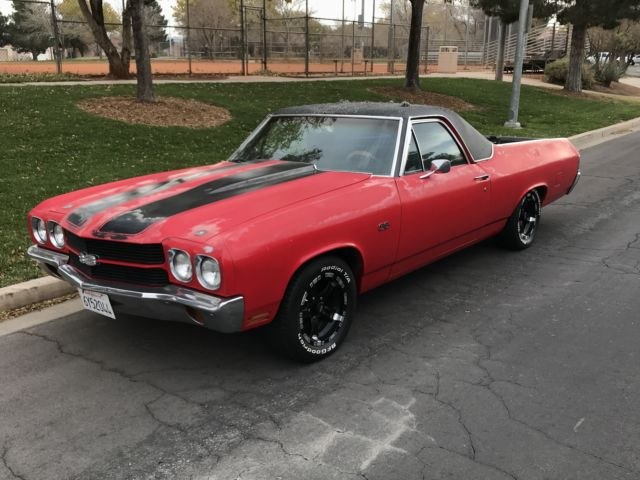 1970 chevy ss el camino classic original barn find up for a 5 day auction for sale chevrolet. Black Bedroom Furniture Sets. Home Design Ideas