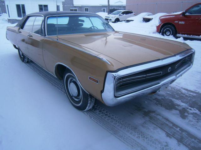 1970 Chrysler 300 4 Door Motor 440 Original New Picture