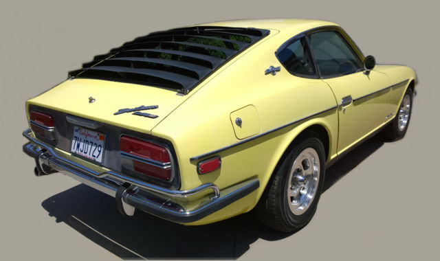 1970 Datsun 240z Chrome Sunshine Yellow with 280z engine ...