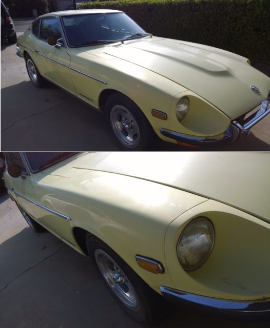 1970 Datsun 240z-Sunshine Yellow/Chrome-280z engine and ...