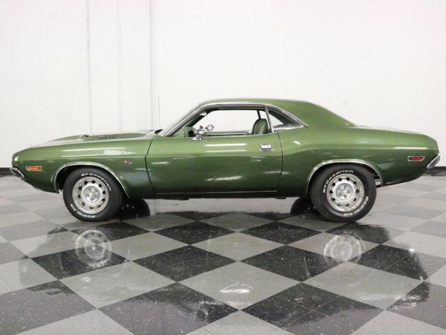 1970 Dodge Challenger Rt 440 Six Pack 61536 Miles Dark Green