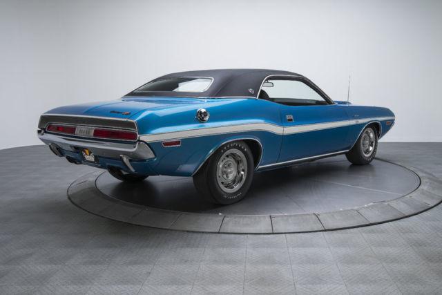 1970 dodge challenger rt se 97070 miles bright blue metallic hardtop 426 hemi v8 for sale. Black Bedroom Furniture Sets. Home Design Ideas