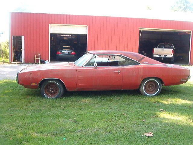 1970 Dodge Charger 500 Big Block 383 Burnt Orange BARN