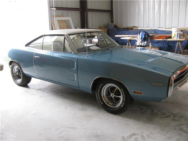 1970 dodge charger 82 932 miles eb3 blue 426 hemi manual for Dodge charger hemi motor for sale