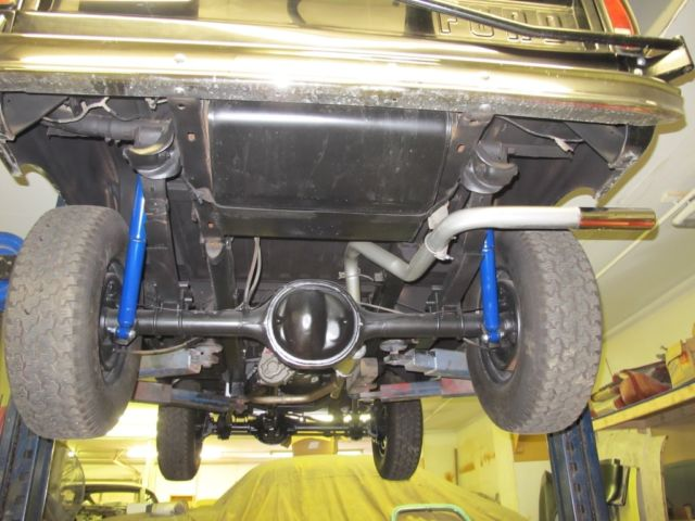 1970 Early Style Black And Tan Bronco Carefully Restored For Sale