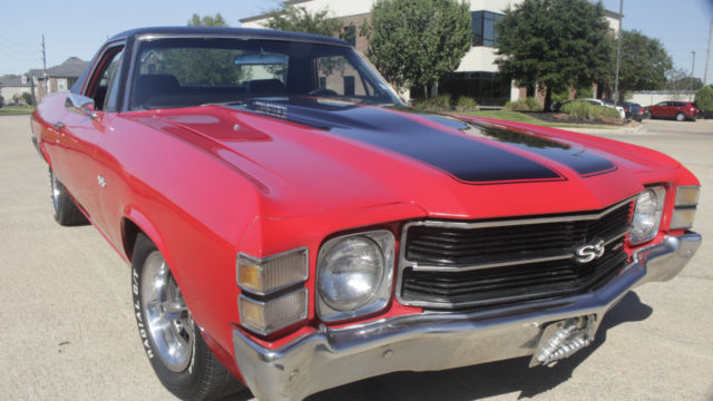 1970 el camino ss clone 454 auto trans clean runs good no leaks drive anywhere for sale. Black Bedroom Furniture Sets. Home Design Ideas