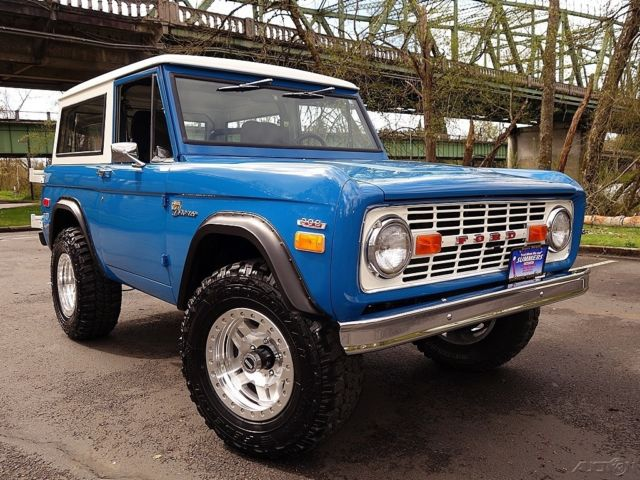 1970 ford bronco 4x4 laguna seca blue 302 v8 3 speed ps fuel wheels for sale ford bronco 1970. Black Bedroom Furniture Sets. Home Design Ideas